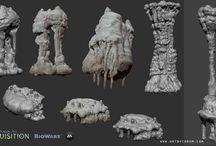 rock / sculpting