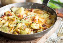 Bauernfrühstück / Kartoffeln