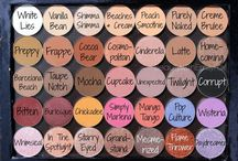 Makeup / Pictures of makeup and products.