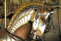 Carousel Horses / by Laura Sobran Drahozal