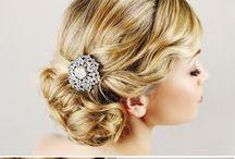 Wedding Hair Ideas, Fashion & Style / Wedding Hair Ideas, Fashion & Style from  www.weddedwonderland.com.