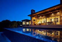 Angel Bay / This beautiful weekend retreat is nestled into the hillside in Angel Bay, Texas. It has stunning panoramic views of Lake Travis and is the perfect getaway in the hill country.