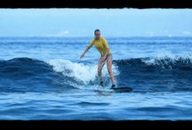 Laceration Surf spot, Nusa Lembongan / Lessons with Monkey Surfing Surf school