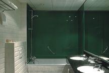 Glazen achterwand / Glazen achterwanden voor uw keuken en badkamer!