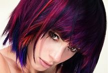 Brightly colored hair / by Lanny Englander