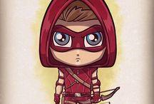 Red. Arrow not Hood.