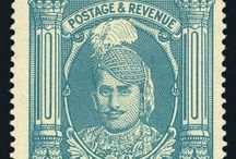 Orchha State Stamps