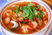 Oriental dishes / Thai till Sushi