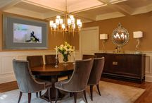 Interiors By Just Design Dining Room / Just Design Interior Design firm is a full service Long Island NY interior design company providing luxury interior design services Long Island NY and in NYC for residential and commercial properties.