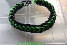 My Loomband Creations / All of the loomband creations I have made
