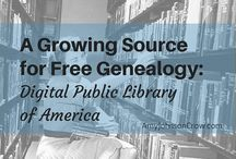 Genealogy in the Library / Resources for Family and Local History