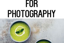 Inspiring Food Photography / Inspiring Food Photography and Food Photography Tricks and DIY Backdrops