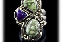 Victorian Turquoise Jewelry / Victorian Turquoise Jewelry produced by Durango Silver Company.
