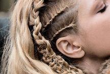 coiffure médiévale