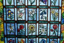 Tiffany üvegvirágok