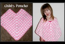 how to crochet a poncho videos