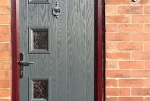 Contemporary Style Composite Doors / Photos of modern and contemporary style composite doors.