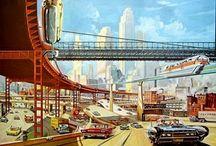 Atomic Punks Fallout / Splitting Atoms, Shelter Decor & Deep Space Orgies / by Ron Karnack