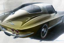 Automotive&motorsport art
