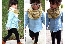 A little girl fashion
