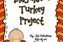 Turkey Time- Thanksgiving in the classroom / by Amy Pittman