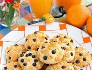 portakallı çıtır kurabiye