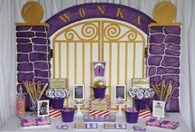 Willy Wonka Themed Party / Everything Needed for a Willy Wonka Themed Party :)
