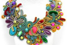 Soutache, beads and lovely jewelry