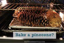 diy pinecone