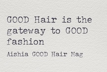 "Yazz-spiration / ""A woman who cuts her hair is about to change her life."" - Coco Chanel"