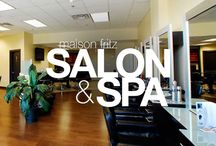 Maison Fritz Salon & Spa - Client / Creating an updated look and feel for this 30 year old company