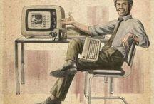 Social Media Propaganda Posters / Al 30's, 40's or 50's look alike propaganda posters of Social Media.