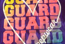 Dut Dut Out / It's a color guard thing.