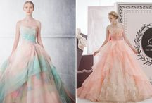 vestidos noiva e debutante