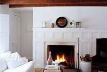 Fireplace inspiration / by Sarah Basye Eidson