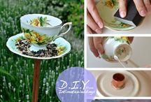 Tea Cup Crafts / Crafts with Tea Cups