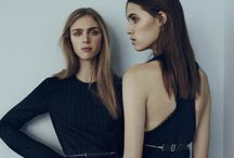 Two Models Posing - Editorial Inspiration