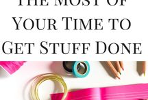 Time Management & Organization / Time management tips, bullet journaling, printables and all things organization related