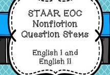 Texas High English I / English I, EOC, STAAR