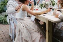 W E D D I N G / Inspiration for our simple outdoor wedding