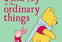 """Famous Classic """"Winnie the Pooh Quotes"""""""
