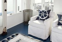 Home Decor: Nautical Style / Inspired by coastal regions and nautical style.
