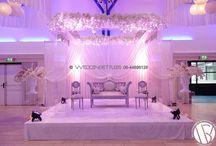 Crystal clear mandap / Romantische en unieke weddingstage voor de unieke moderne bruid