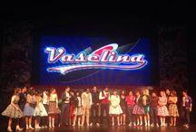Enlace En Vivo Vaselina y Primero Noticias / El 30 de enero se realizó un enlace en vivo entre un ensayo del musical Vaselina y el noticiero Primero Noticias. / by Alejandro Speitzer