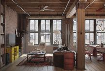 Industrial Style Interior