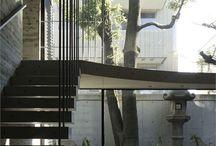 escalier / echelle / acces mezzanine