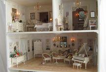 minis y casas de muñecas