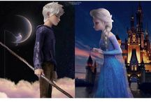 Jack Frost and Elsa❄️