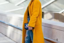 Oversized coat style