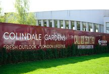 Advertising Hoarding & Marketing Suite | Colindale Gardens / Like what you see? Find out more at http://bit.ly/2uE5K9e